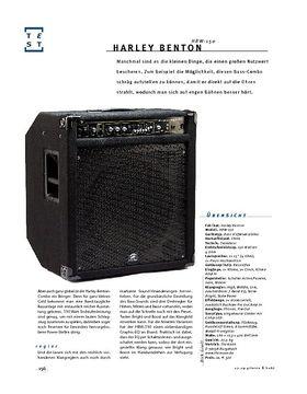 Harley Benton HBW-150, Bass-Combo