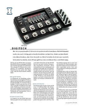 DigiTech RP1000, Multieffekt & Ampmodeler