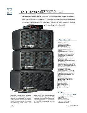 tc electronic RebelHead & RebelStack, Bass-Anlage