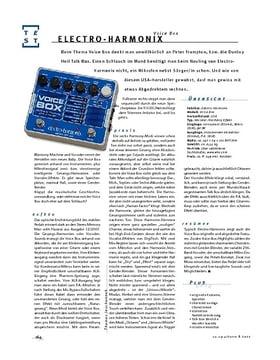 Electro-Harmonix Voice Box, Effekt-Gerät