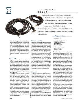 Vovox sonorus protect A, Instrumenten-Kabel
