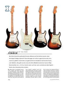 Fender Road Worn '50s & '60s Strats, E-Gitarren