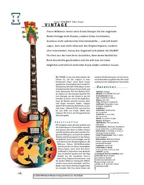 Vintage Icon VS6MRF The Fool, E-Gitarre