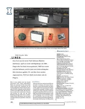 Line6 POD Studio UX2, Soft- & Hardware