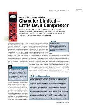 Chandler Limited - Little Devil Compressor