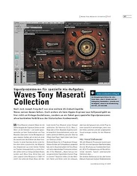 Waves Tony Maserati Collection