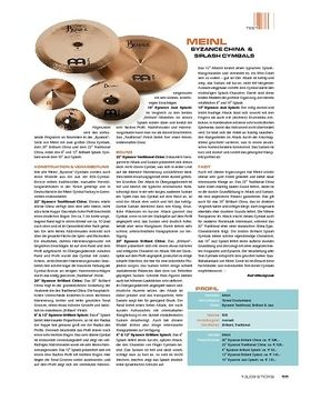Meinl Byzance China & Splash Cymbals