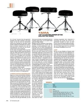 Tama 1st Chair Hydraulic Drummer-Sitze