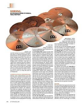Meinl Byzance Ride-Cymbals