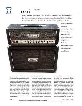 Laney GH50L + GS212IE, Gitarren-Half-Stack