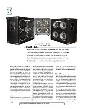 Hartke 410XL, VX410 & HX410  Boxen im Vergleich