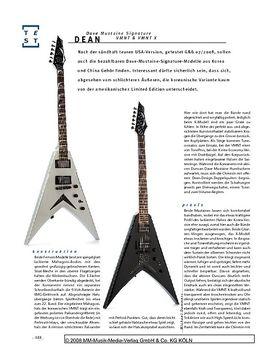 Dean Dave Mustaine Signature VMNT & VMNT X, E-Gitarren