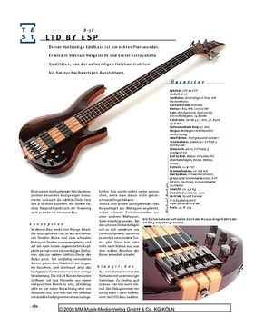 LTD by ESP B-5E, E-Bass