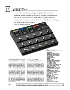 Line6 M13 Stompbox Modeler, Multi-FX