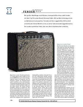Fender '65 Princeton Reverb, Röhren-Combo