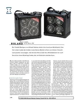 Roland Micro Cube, Bass-/Gitarren-Verstärker