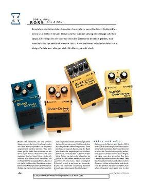 Boss ODB-3, OD-3, SD-1 & BD-2 für Bass
