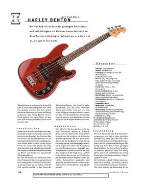 Harley Benton Hot Rod Bass, E-Bass