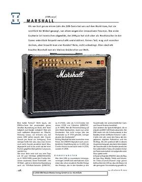 Marshall JVM205C, Gitarren-Combo