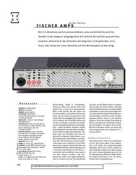 Fischer Amps Guitar Genius, Loadbox mit Speakersimulation