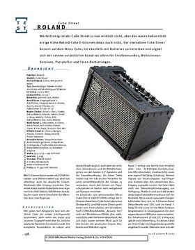 Roland Cube Street, Stereo-Combo-Verstärker