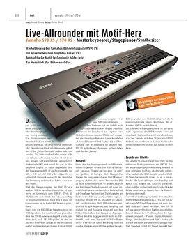 Yamaha S90XS / S70XS - Masterkeyboards/Stagepianos/Synthesizer