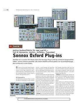 Sonnox Oxford Plug-ins