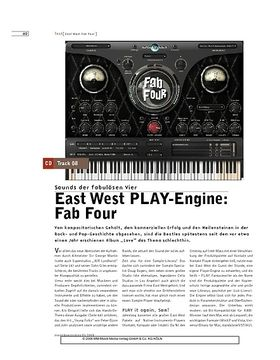East West PLAY-Engine: Fab Four