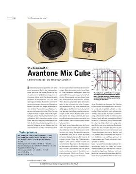 Avantone Mix Cube