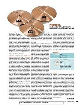 Meinl Byzance Traditional Cymbal-Neuheiten