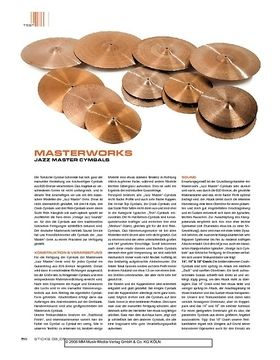 Masterwork Jazz Master Cymbals