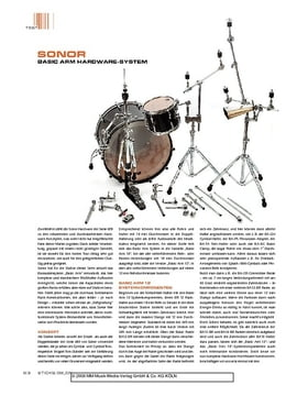 Sonor Basic Arm Hardware System