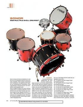 Sonor SQ2 Multiple Shell Drumset