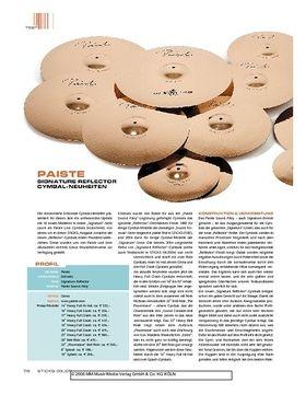 Paiste Signature Reflector Cymbal-Neuheiten