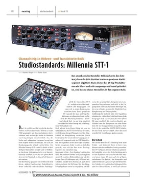 Studiostandards: Millennia STT-1