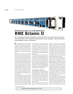 RME Octamic II