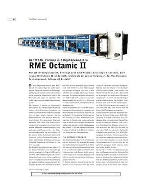 RME Octamic II