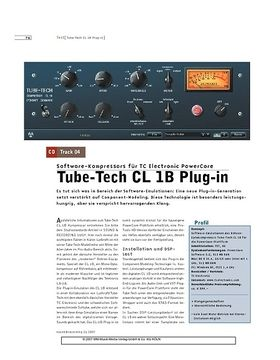 Tube-Tech CL1B Plug-in