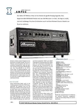 Ampeg SVT Classic, Bass-Amp