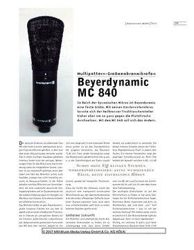 Beyerdynamic MC 840