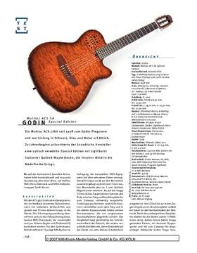 Godin Multiac ACS SA Special Edition, Nylonstring-E-&-MIDI-Gitarre