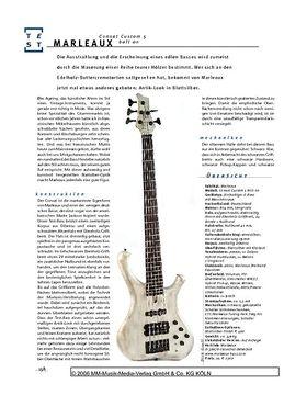Marleaux Consat Custom 5 bolt on, Fünfsaiter-E-Bass