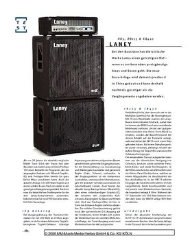 Laney RB-Stack, Bass-Anlage