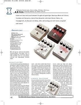 Artec Gitarren-Effektpedale