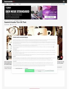 Summit Audio TLA-50 Tube Leveler