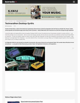 Test Marathon Desktop-Synths
