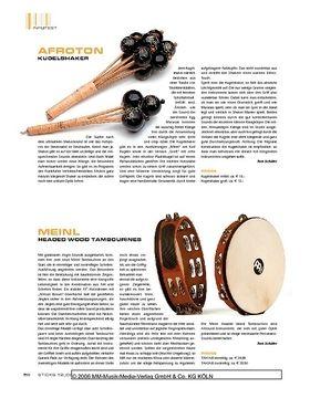 Meinl Headed Wood Tambourines