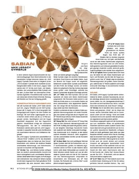Sabian HHX Legacy Cymbals