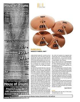 Meinl MCS Cymbal-Set