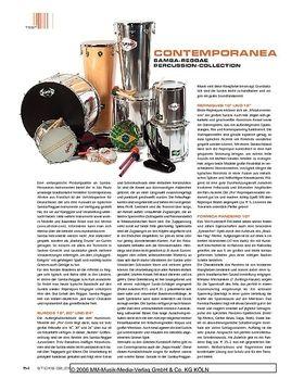 Contemporanea Samba-Reggae Percussion-Collection